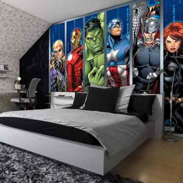 Avengers Bedroom Ideas 15