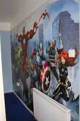 Avengers Bedroom Ideas 25
