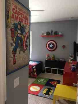 Avengers Bedroom Ideas 8