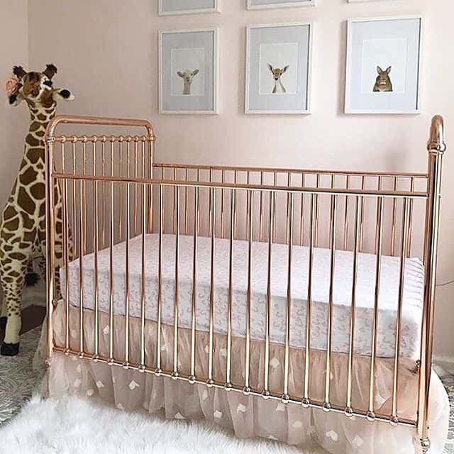 Rose Gold Crib 18
