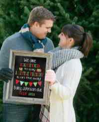 Christmas Pregnancy Announcement 2