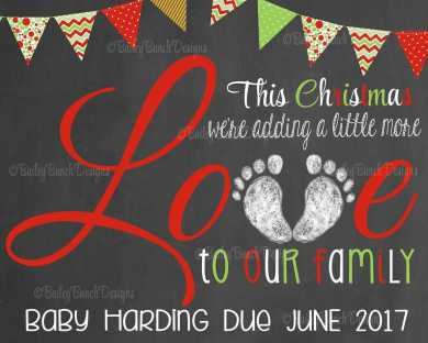 Christmas Pregnancy Announcement 48
