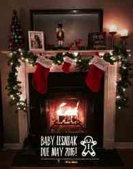 Christmas Pregnancy Announcement 8