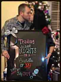 Christmas Pregnancy Announcement 9
