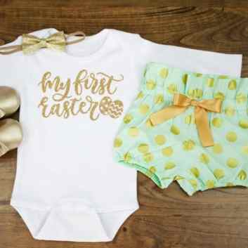Newborn Easter Outfit 21