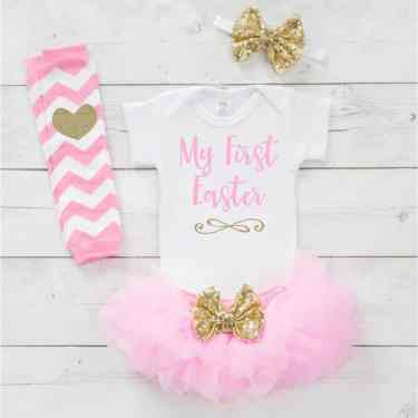 Newborn Easter Outfit 25
