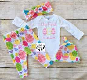 Newborn Easter Outfit 46