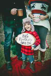 Christmas Pregnacy Announcment 16