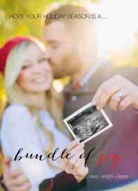 Christmas Pregnacy Announcment 40
