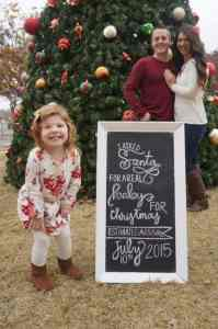 Christmas Pregnacy Announcment 9