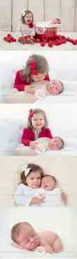 Newborn Christmas Pictures 15