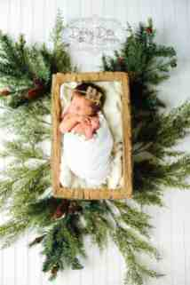 Newborn Christmas Pictures 30