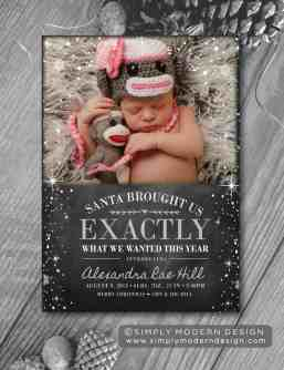 Newborn Christmas Pictures 5