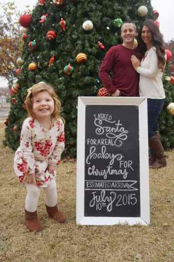 Twin Christmas Announcement 27