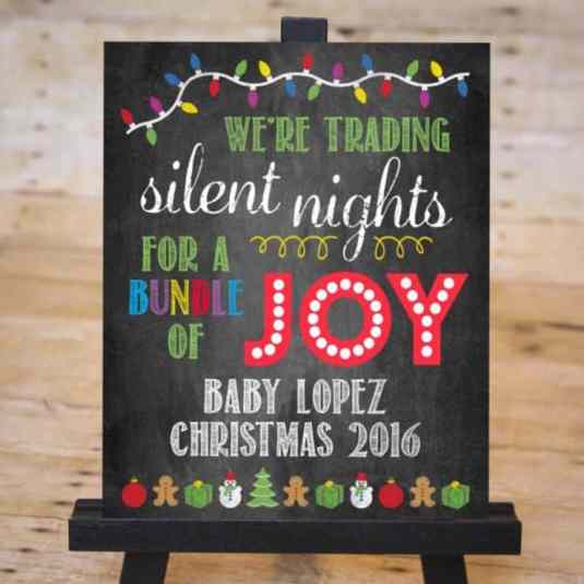 Twin Christmas Announcement 30