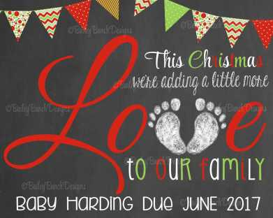 Twin Christmas Announcement 34