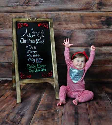 Twin Christmas Announcement 40