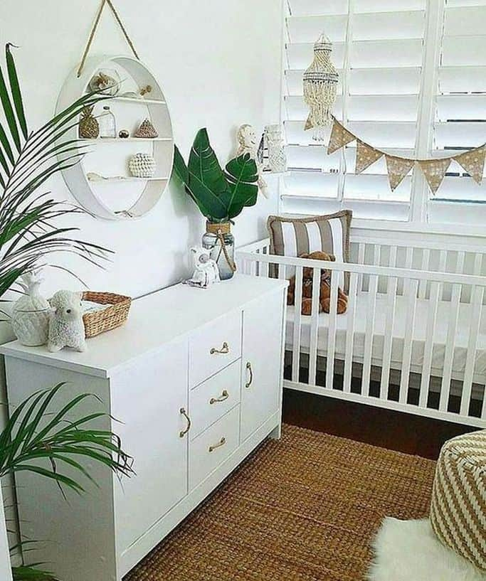 10 Gender Neutral Nursery Decorating Ideas: 17 Best Minimalist Gender Neutral Baby Nursery Ideas