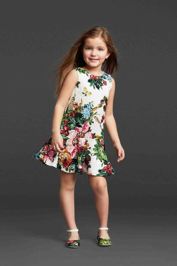 Floral Dress Kids 6 Result