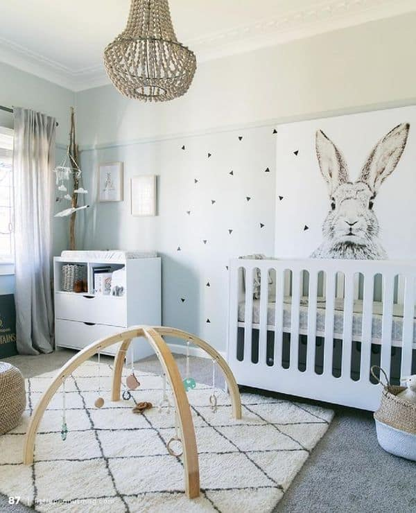 15 Elegant Minimalist Nursery Room Ideas
