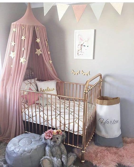 Pink Grey Nursery 5 Result