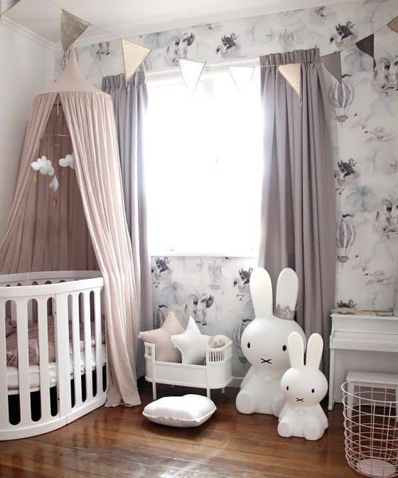 Pink Grey Nursery 7 Result
