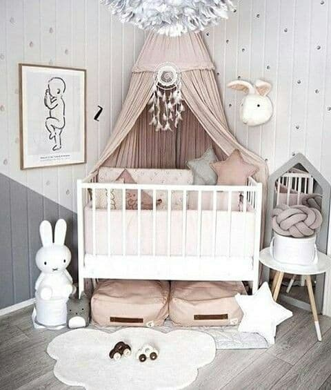 Pink Grey Nursery 8 Result