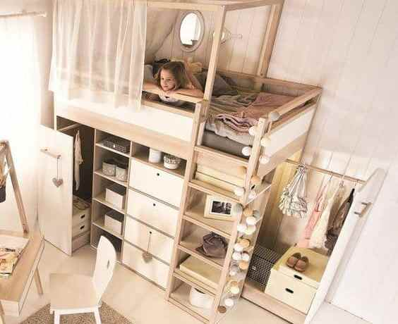 Space Saving Designs For Small Kids Rooms: Space Saving Furniture Ideas For Small Kids Room