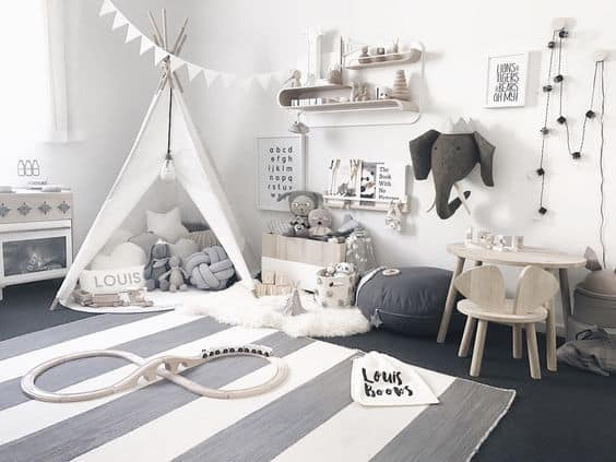 Small Space Kid's Playroom Ideas