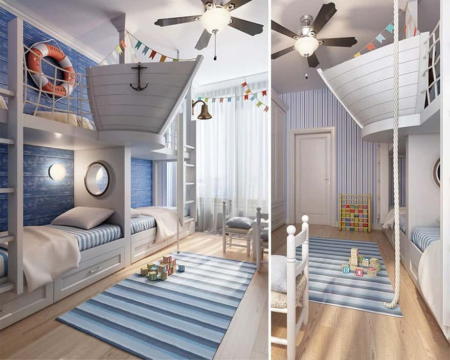 Creative Children Room Ideas 27 2