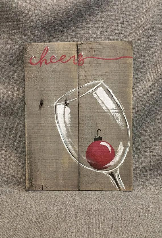 Christmas Canvas Painting 1