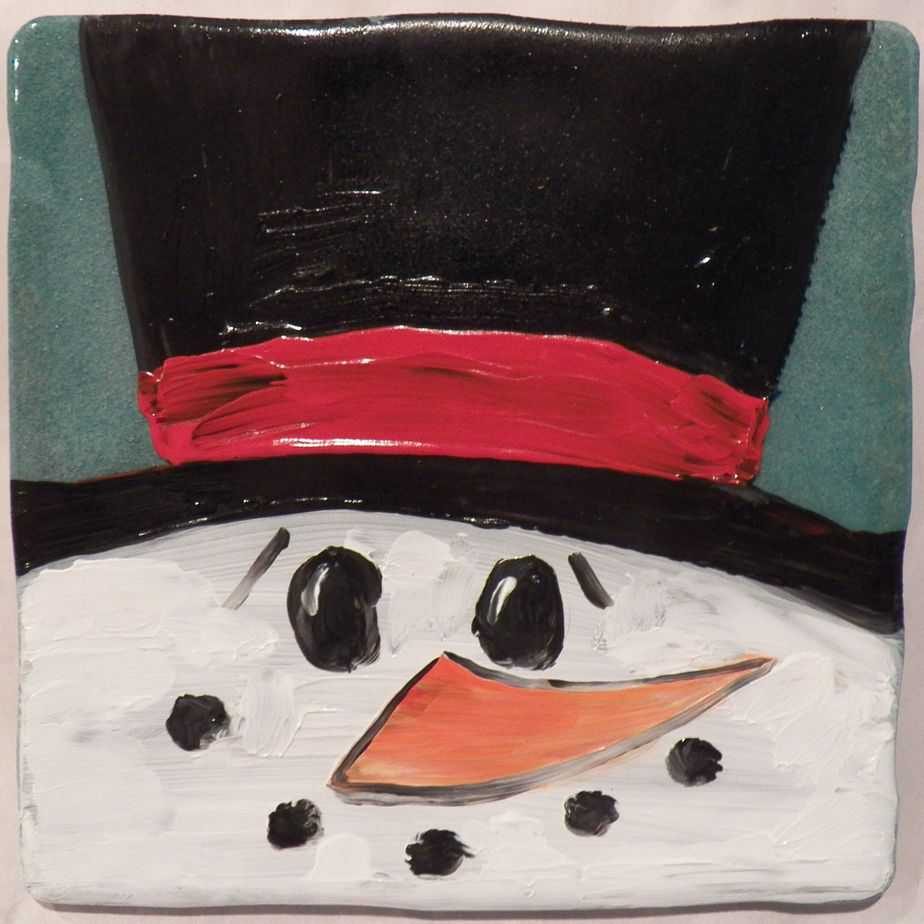 Christmas Canvas Painting 14