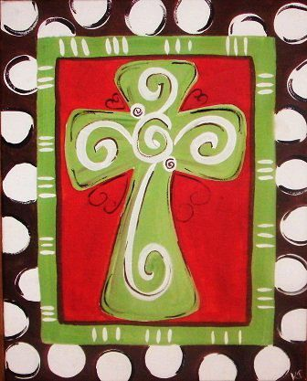 Christmas Canvas Painting 20