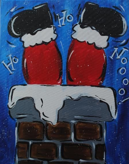 Christmas Canvas Painting 21