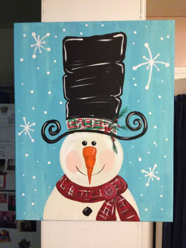 Christmas Canvas Painting 28