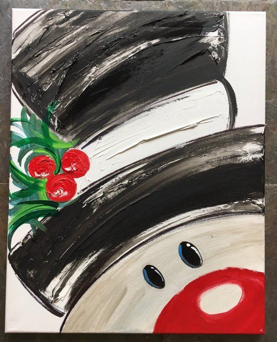 Christmas Painting Ideas.18 Easy Christmas Canvas Painting Ideas For Kids Mybabydoo
