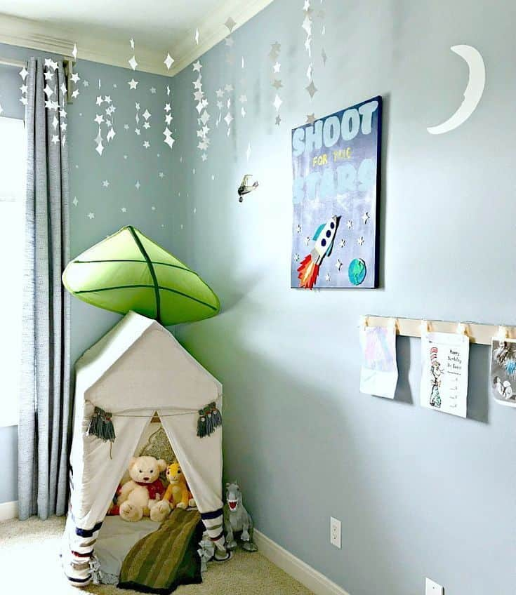 DIY Kids Bedroom Ideas And Decor 34