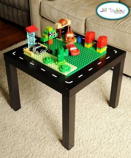 DIY Lego Tables 2