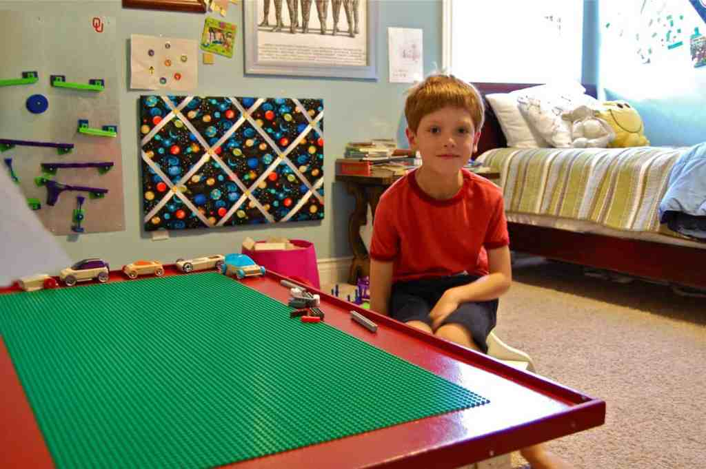 DIY Lego Tables 20