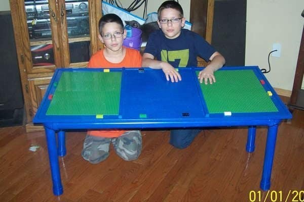 DIY Lego Tables 21