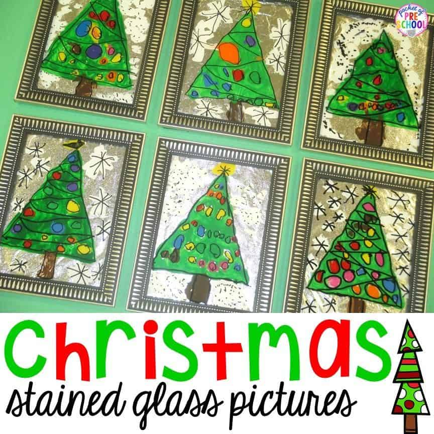 Preschool Crafts WinterChristmas 35