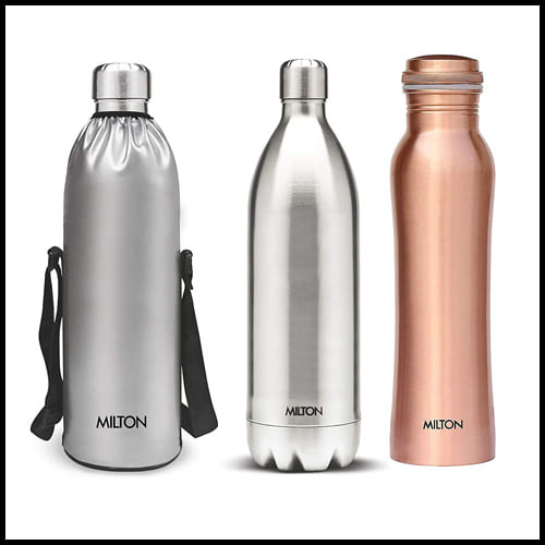 MILTON Duo DLX 1500 Stainless Steel Water Bottle