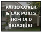 patio cover & carport trifold