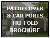 patio cover & carport trifold