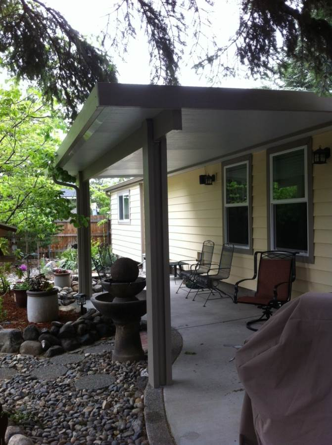Insulated Patio Cover.adobe Wrap