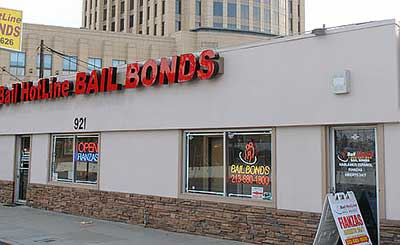 Bail bonds hotline