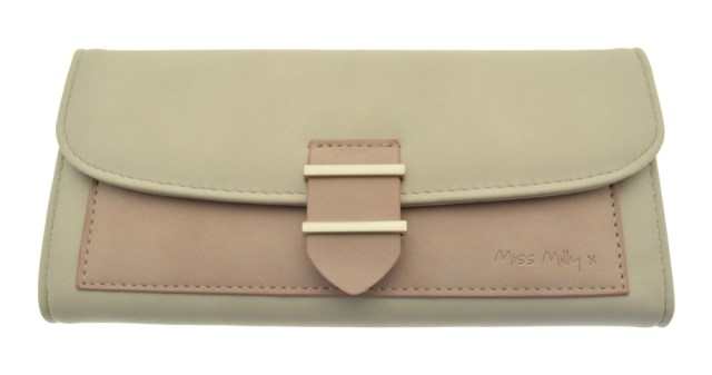 Pink Panel Purse Miss Milly