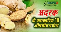 गुणकारी अदरक के 111 फायदे व दिव्य औषधीय प्रयोग | Ginger Health Benefits