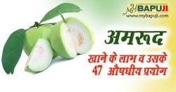 अमरूद खाने के लाभ व उसके 47 औषधीय प्रयोग | Amrud khane ke fayde