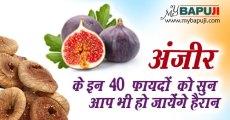 अंजीर के इन 40 फायदों को सुन आप भी हो जायेंगे हैरान | Anjeer khane ke fayde in Hindi
